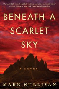 beneath the scarlet sky